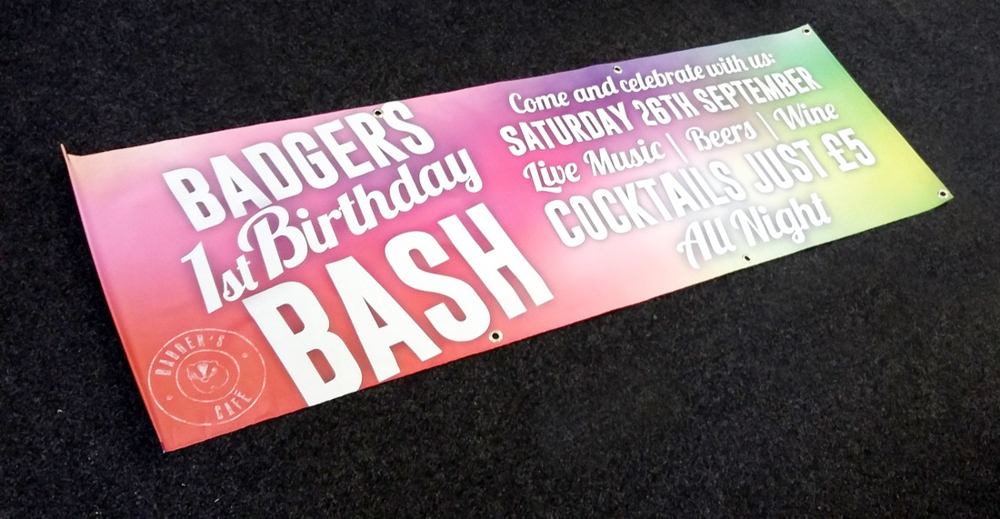 OUTDOOR BANNERS - Middlesbrough Printing